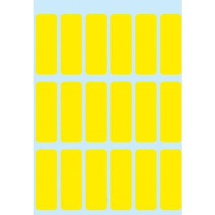 HERMA Vielzweck-Etiketten, 12 x 34 mm, gelb, Kleinpackung