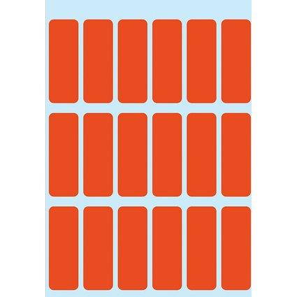 HERMA Vielzweck-Etiketten, 12 x 34 mm, rot, Kleinpackung