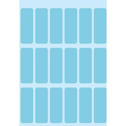 HERMA Vielzweck-Etiketten, 12 x 34 mm, blau, Kleinpackung