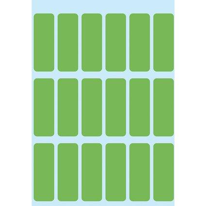 HERMA Vielzweck-Etiketten, 12 x 34 mm, grün, Kleinpackung