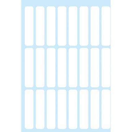 HERMA Vielzweck-Etiketten, 8 x 36 mm, weiß, für Dias