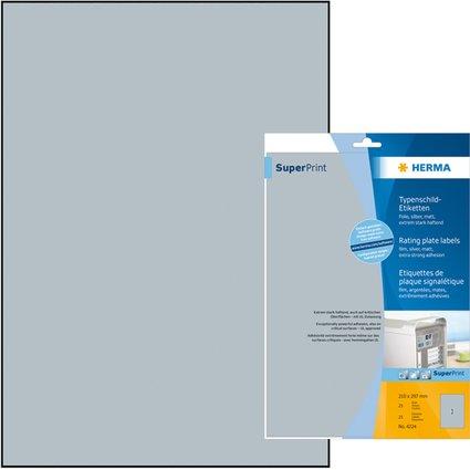 HERMA Zahlen-Sticker 1-240, Durchmesser: 12 mm, weiß