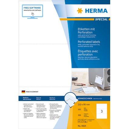 HERMA Universal-Etiketten SPECIAL, perforiert