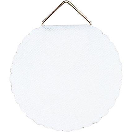 HERMA Bildaufhänger Durchmesser 45 mm, Shirting, weiß