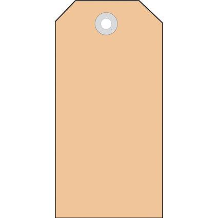 HERMA Anhängezettel, 60 x 113 mm, Colli-Anhänger, braun