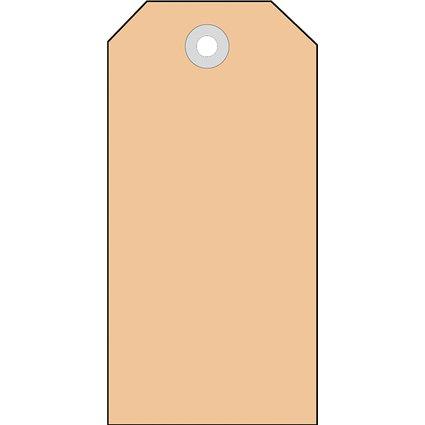 HERMA Anhängezettel, 60 x 120 mm, brauner Karton
