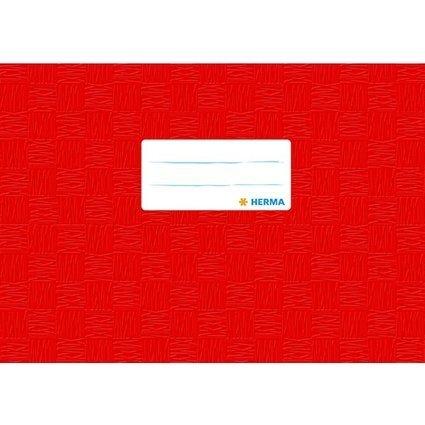 HERMA Heftschoner, DIN A5 quer, aus PP, rot gedeckt