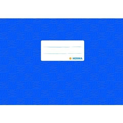 HERMA Heftschoner, DIN A5 quer, aus PP, dunkelblau gedeckt