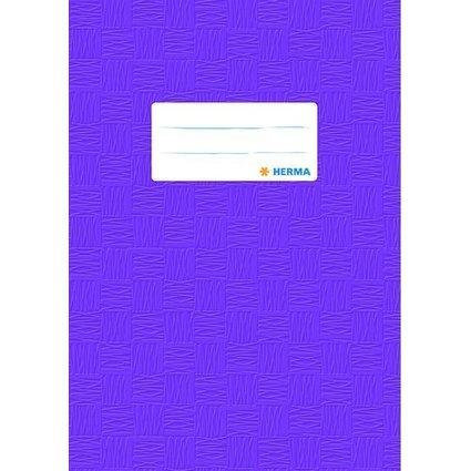 HERMA Heftschoner, DIN A5, aus PP, violett gedeckt