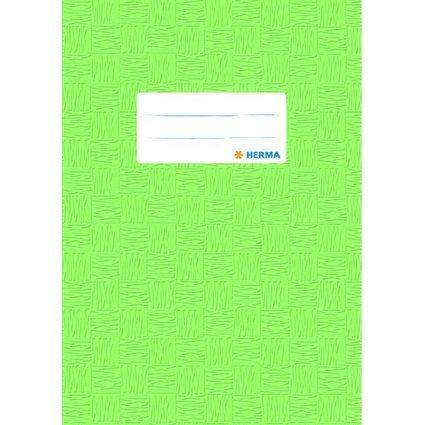 HERMA Heftschoner, DIN A5, aus PP, hellgrün gedeckt