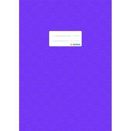 HERMA Heftschoner, DIN A4, aus PP, violett gedeckt