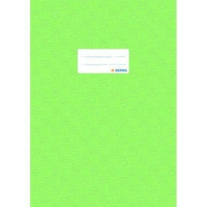 HERMA Heftschoner, DIN A4, aus PP, hellgrün gedeckt