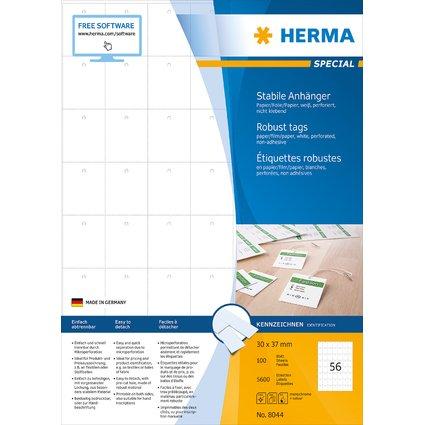 HERMA Warenanhänger SPECIAL, 30 x 37 mm, weiß