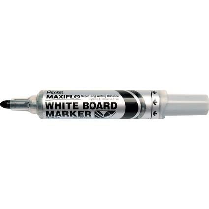 Pentel Whiteboard-Marker MAXIFLO MWL5M, schwarz