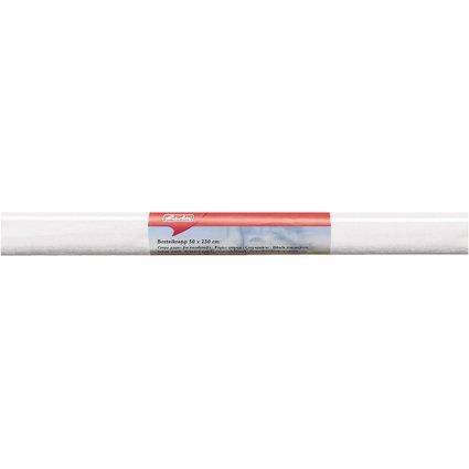 herlitz Krepp-Papier, (B)500 x (L)2.500 mm, weiß