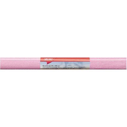 herlitz Krepp-Papier, (B)500 x (L)2.500 mm, rosa