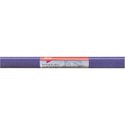 herlitz Krepp-Papier, (B)500 x (L)2.500 mm, blau