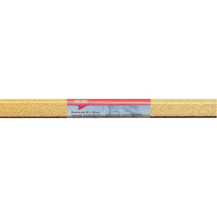 herlitz Krepp-Papier, (B)500 x (L)1.500 mm, gold