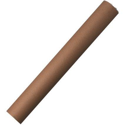 herlitz Versandrohr, Außenmaß: 630 x 80 mm, Karton, braun