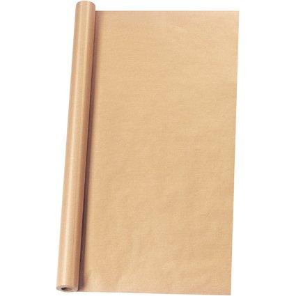herlitz Packpapier, auf Rolle, 1.000 mm x 5 m, braun