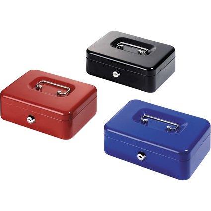 herlitz Geldkassette, Maße: (B)205 x (T)157 x (H)75 mm
