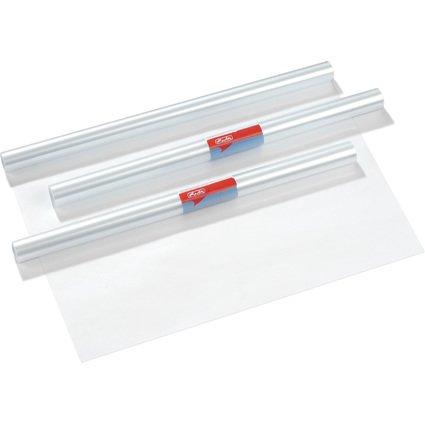 herlitz Buchschutzfolie, 400 mm x 5 m, PP, transparent