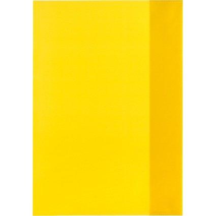 herlitz Heftschoner DIN A4, PP, transparent-gelb