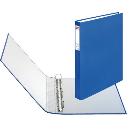 herlitz Ringbuch maX.file protect, A4, 4-Ring-Mechanik, blau