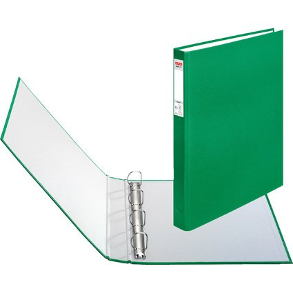 herlitz Ringbuch maX.file protect, A4, 4-Ring-Mechanik, grün