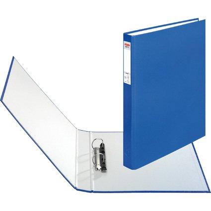 herlitz Ringbuch maX.file protect, A4, 2-Ring-Mechanik, blau