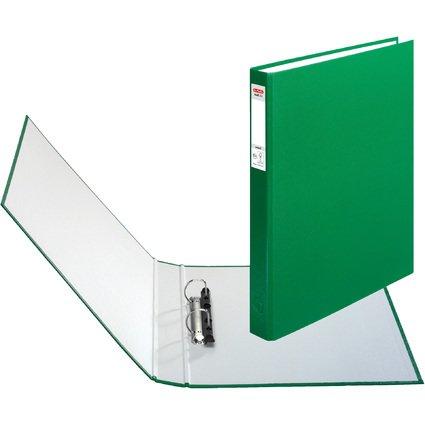 herlitz Ringbuch maX.file protect, A4, 2-Ring-Mechanik, grün