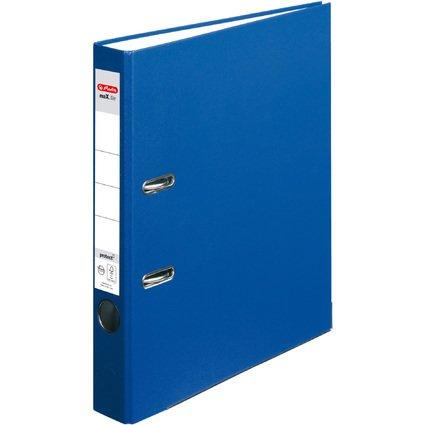 herlitz Ordner maX.file protect, Rückenbreite: 50 mm, blau