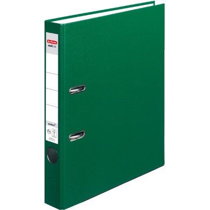 herlitz Ordner maX.file protect, Rückenbreite: 50 mm, grün