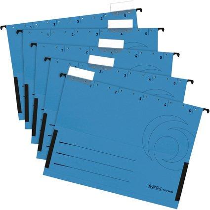 herlitz Hängetasche UniReg easyorga, DIN A4, blau