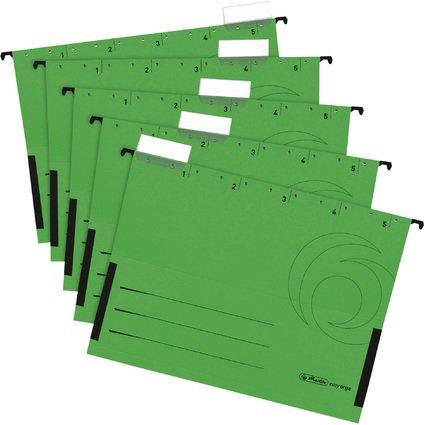 herlitz Hängetasche UniReg easyorga, DIN A4, grün