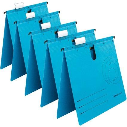 herlitz Hängehefter UniReg easyorga, kaufm., blau