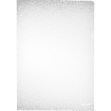 herlitz Sichthülle, DIN A4, PP, transparent, 0,09 mm