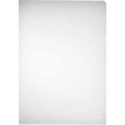 herlitz Sichthülle, DIN A4, PP, transparent, 0,11 mm