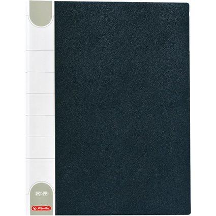 herlitz Sichtbuch, DIN A3, mit 20 Hüllen, schwarz