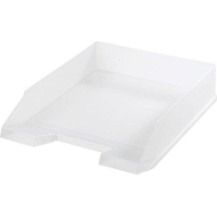 herlitz Briefablage, DIN A4, Polystyrol, weiß-transluzent