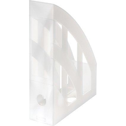 herlitz Stehsammler Classic, DIN A4, Polystyrol, weiß-