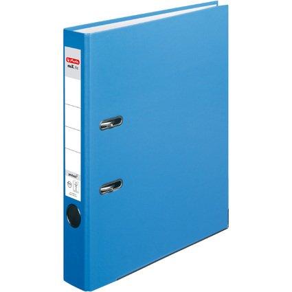 herlitz Ordner maX.file protect, Rückenbreite: 50 mm, aqua