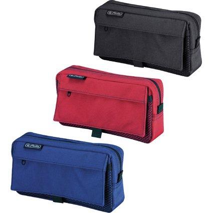 herlitz Stifte-Tasche mit Netztasche, aus Polyester