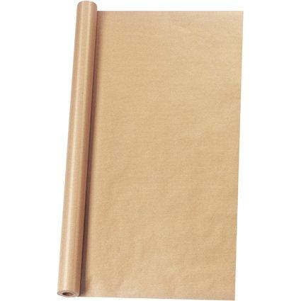 herlitz Packpapier, auf Rolle, 700 mm x 12 m, braun