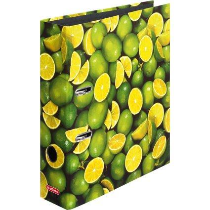 herlitz Motivordner maX.file Lemon, A4, Rückenbr: 80 mm