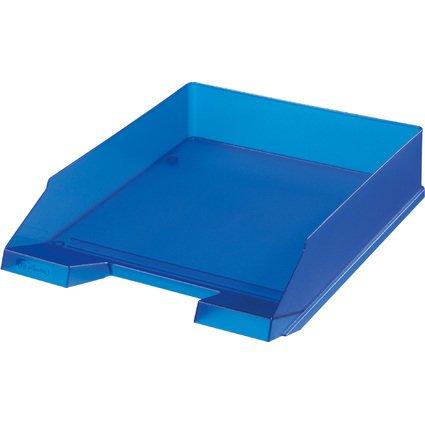 herlitz Briefablage, DIN A4, Polystyrol, blau-transluzent