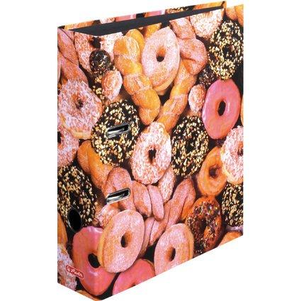 herlitz Motivordner maX.file Donuts, A4, Rückenbr: 80 mm