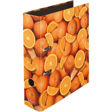 herlitz Motivordner maX.file Orangen, A4, Rückenbr: 80 mm