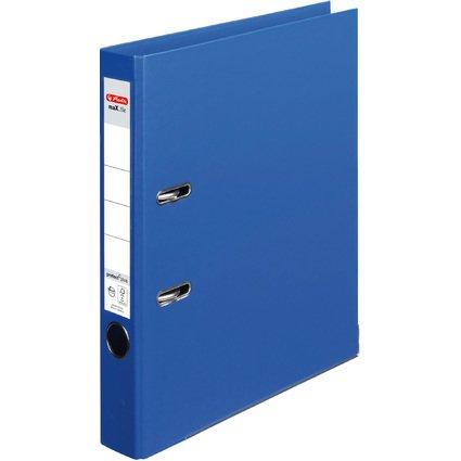 herlitz Ordner maX.file protect plus, Rückenbr.: 50 mm, blau
