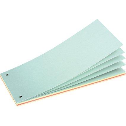 herlitz Trennstreifenblock, für DIN A4, farbig sortiert